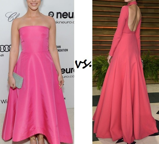 Jessica Lowndes vs. Allison Williams…Who rocked pink better?