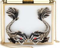 Roberto Cavalli box clutch: Yay or Nay?