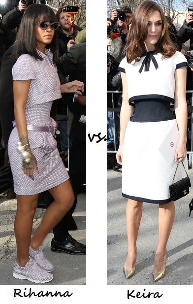 Rihanna vs. Keira Knightley…Who wore Chanel better?