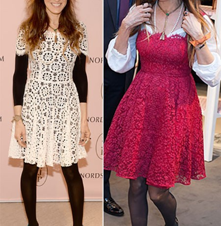Sarah Jessica Parker is Worst Dressed of the Week in Dolce & Gabbana