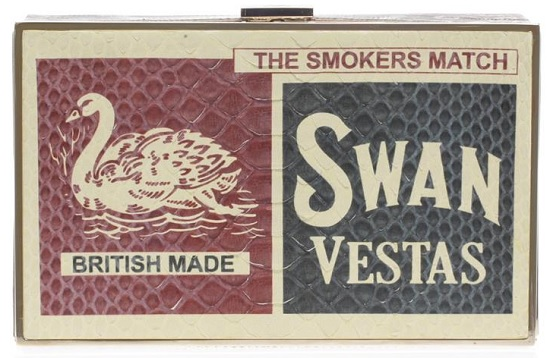 Anya Hindmarch Swan Vestas Imperial matchbox clutch: Yay or Nay?