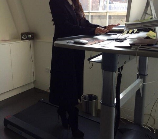 Victoria Beckham's treadmill tweet: ridiculous, or right on point?