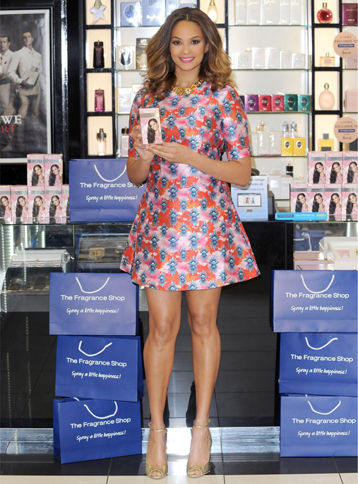 alesha-dixon-house-of-holland-fragrance-shop