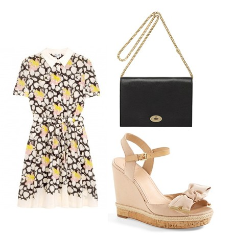 2 ways to wear Alice by Temperley's floral print dress