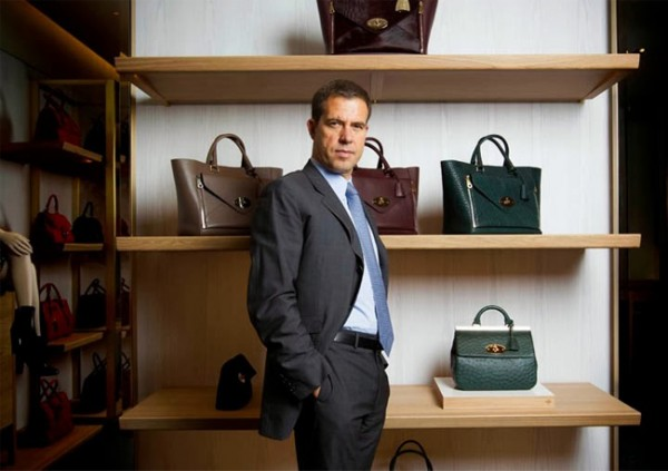 Mulberry CEO Bruno Guillon resigns!