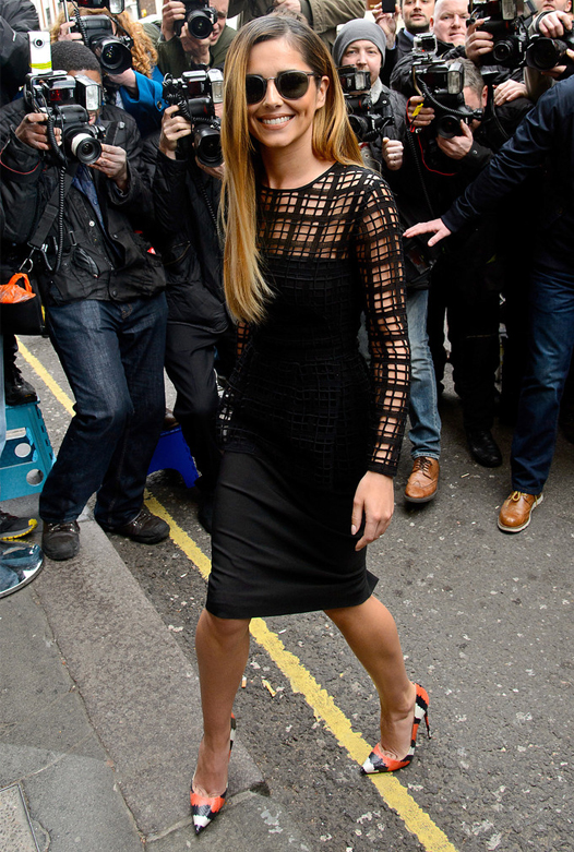 Cheryl Cole debuts new look for X Factor press conference