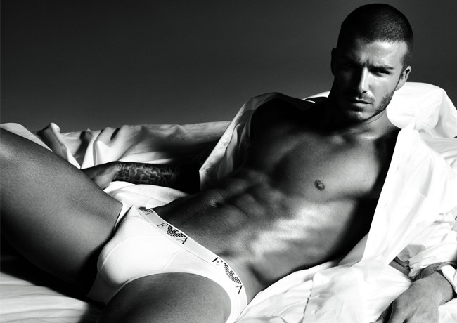 "Tommy Hilfiger thinks David Beckham is the ""underwear model of the century"""