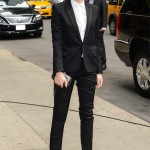 Emma Watson suits up in Saint Laurent