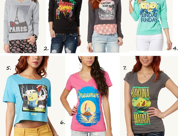 7 Statement-making graphic tees we love!