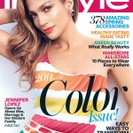 Jennifer Lopez wears Chanel for ultra colourful InStyle US April cover