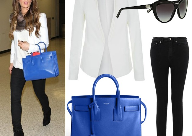 "Get Kate Beckinsale's ""all about the bag"" look"