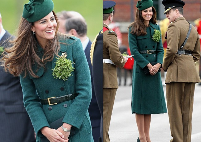 Is this Kate Middleton's best Saint Patrick's Day outfit to date?