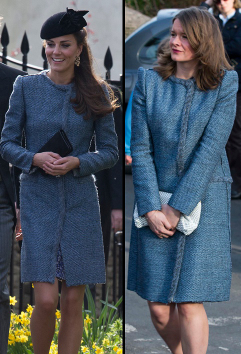 Kate Middleton wears the same dress as another wedding guest… at the same wedding!