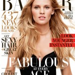 Lara Stone in Lanvin for Harper's Bazaar US April
