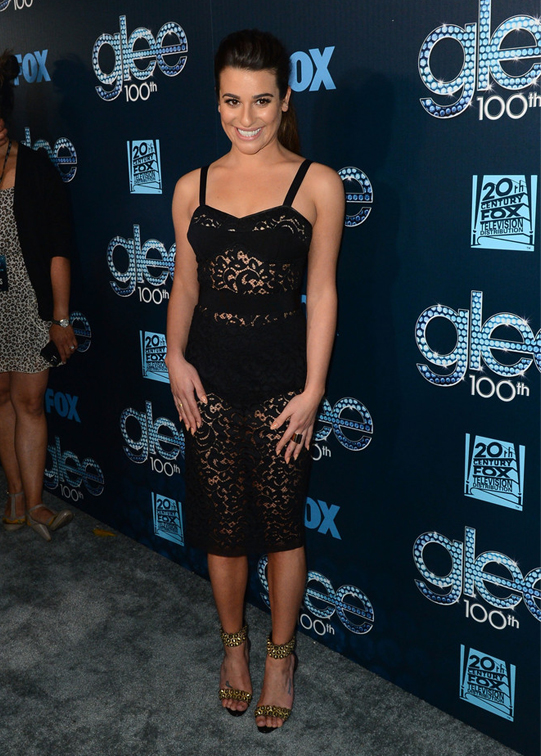 lea-michele-glee-100th-episode