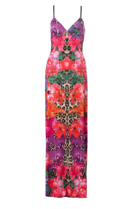 Lunchtime Buy: Lipsy floral animal print maxi dress