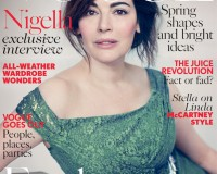 British Vogue taps Nigella Lawson for its April cover!
