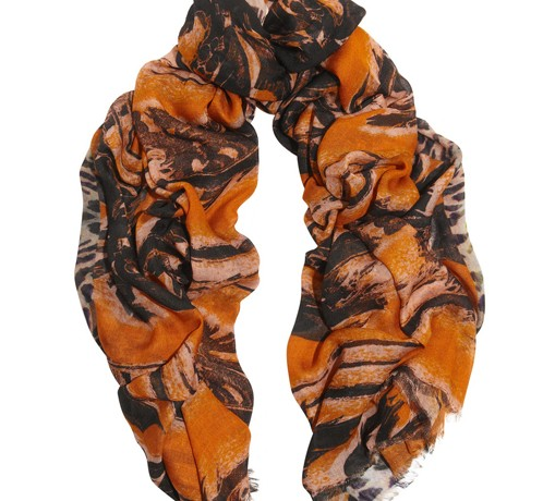 Lunchtime Buy: Lily and Lionel Roxie printed modal and silk-blend scarf