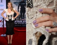 Scarlett Johansson debuts baby bump and vintage engagement ring at Captain America premiere
