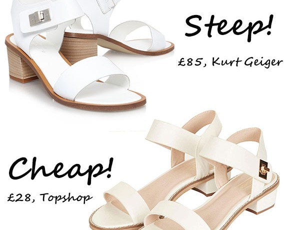 Steep vs. Cheap: High Street heel wars