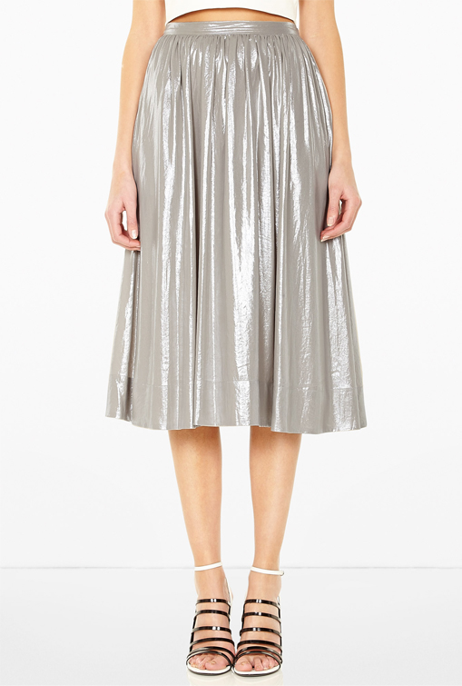 Lunchtime Buy: Whistles Daisy foil skirt