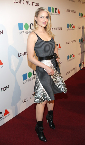Dianna Agron is Worst Dressed of the Week in Louis Vuitton