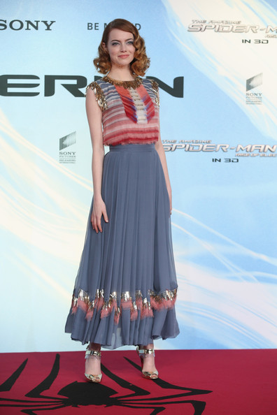 Emma Stone is Worst Dressed of the week in Chanel