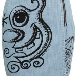 Jeremy Scott cartoon-print denim skirt: Yay or Nay?