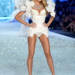 Candice Swanepoel likes to gain weight before the annual Victoria's Secret Fashion Show