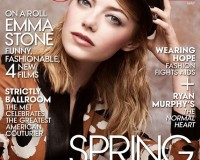 Emma Stone covers American Vogue's May issue!
