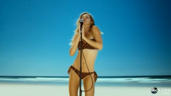 Hear Gisele sing Blondie's 'Heart of Glass' in full H&M ad!