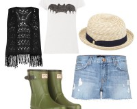 2 ways to wear J Brand's cut-off denim shorts