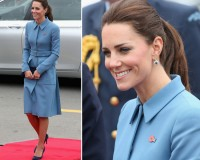Kate Middleton wows in New Zealand in her respective Alexander McQueen and Jenny Packham outfits