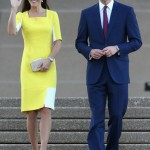 Prince William thinks Kate Middleton looks like a banana in her yellow Roksanda Ilincic dress…