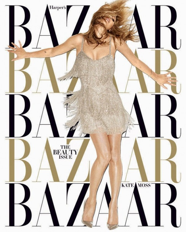 Kate Moss covers Harper's Bazaar US May, models more of her Topshop range