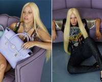 Lady Gaga's un-retouched Versace images surface