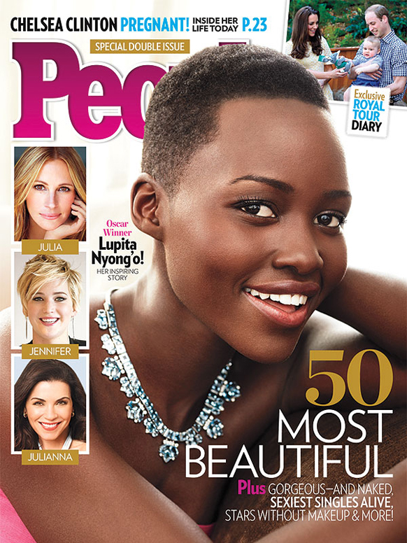 Lupita Nyong'o named People's most beautiful