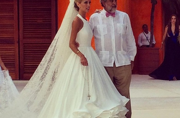 Mary Katrantzou designs her first ever wedding dress (and it's stunning!)