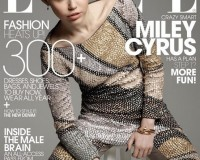 Miley Cyrus wears Marc Jacobs for Elle US May cover