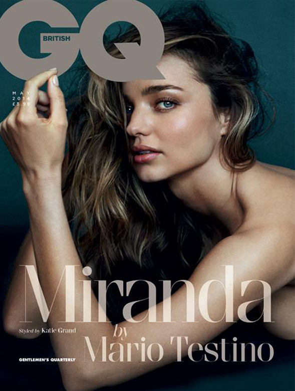 Miranda Kerr talks love, life, and being single in British GQ May