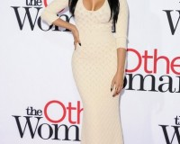 Nicki Minaj tones it down in floor-length Alexander McQueen at The Other Woman premiere
