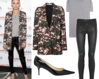 Get Nicole Richie's floral Givenchy look