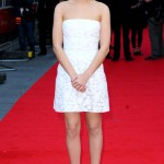 Olivia Cooke nails the LWD trend in Mulberry