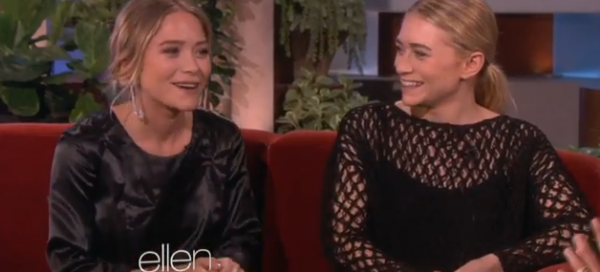 Mary-Kate and Ashley Olsen discuss their new fragrance with Ellen