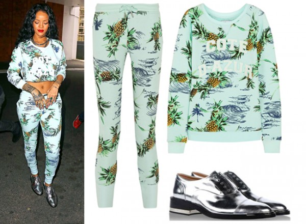 Get Rihanna's tropical print look
