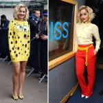Rita Ora works two Moschino looks in London