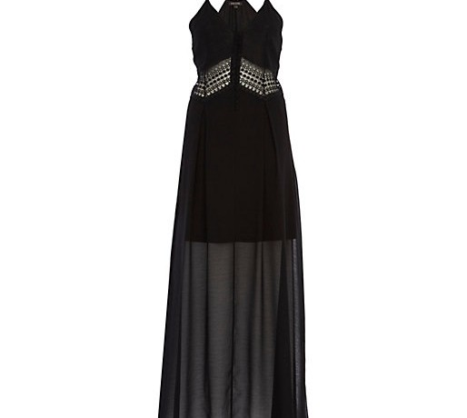 Lunchtime Buy: River Island crochet insert slip maxi dress