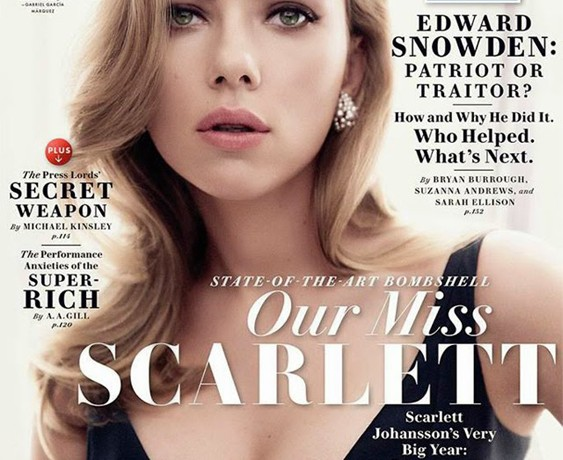 Scarlett Johansson seduces us on Vanity Fair's May cover, talks Paris street style