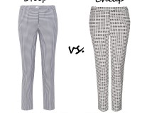 Steep vs. Cheap: Gingham trousers