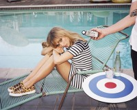 First look: Suki Waterhouse's Superga spring/summer 2014 ads
